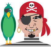 Pirate and Parrot