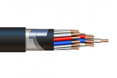 Vector illustration of a Pilot Cable