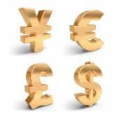 Zlaté měny symboly