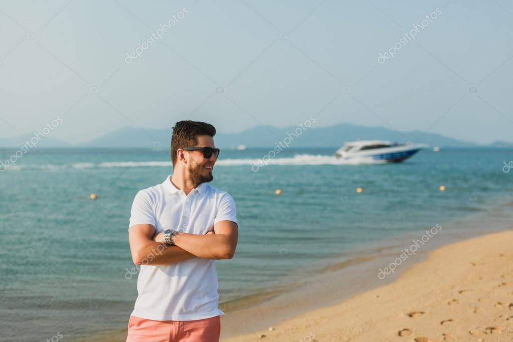 Красивые голые парни на пляже Частное фото 70