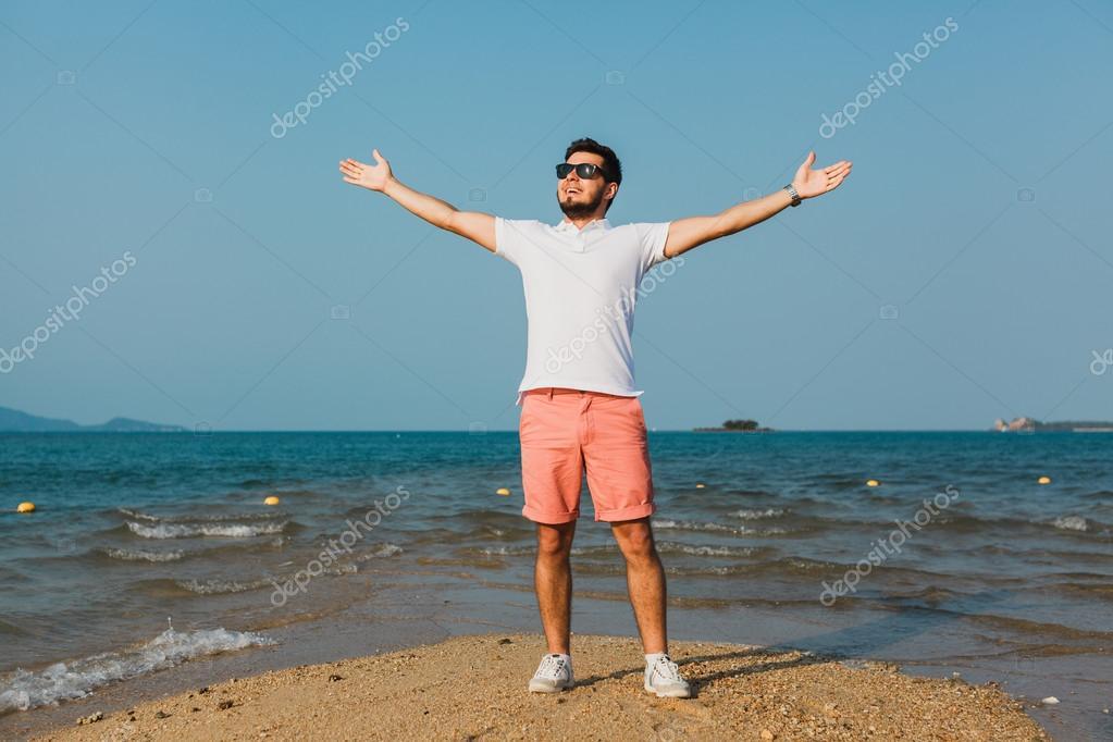 Красивые голые парни на пляже Частное фото 93