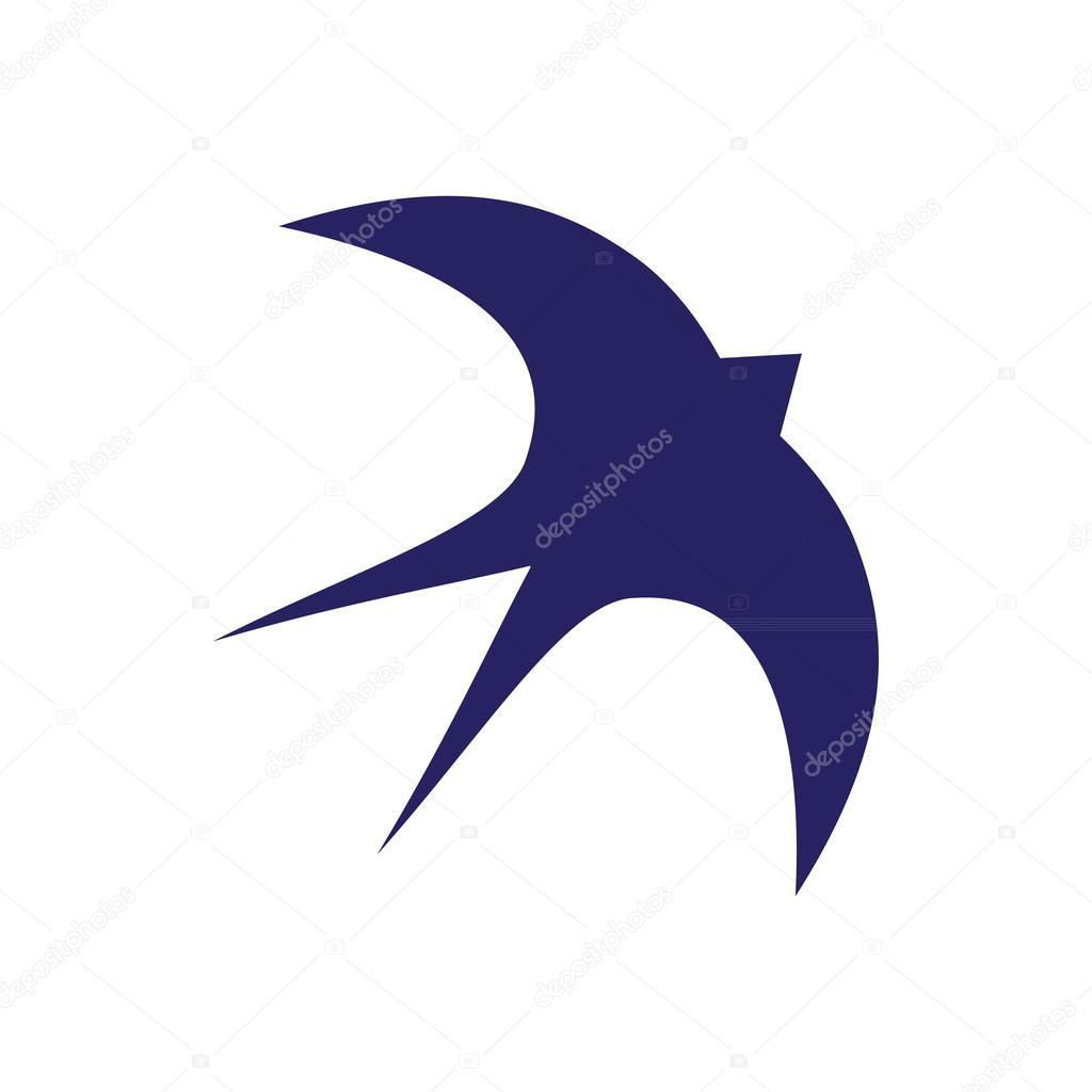 Jaskółka Ptak Tatuaż Grafika Wektorowa Mizlatic 106324104