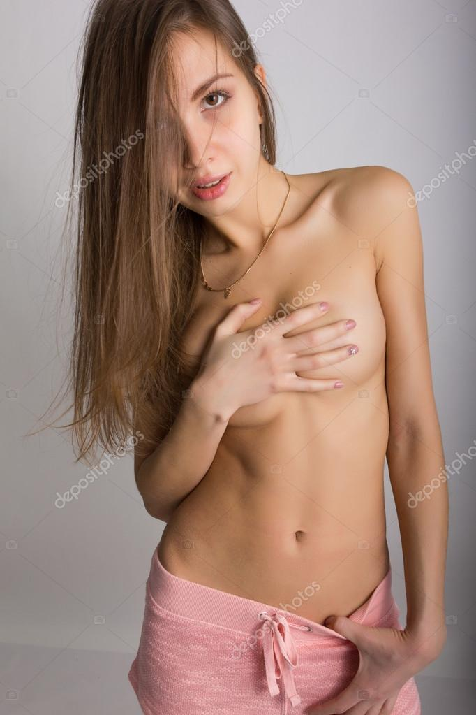 blonde girl naked sexy