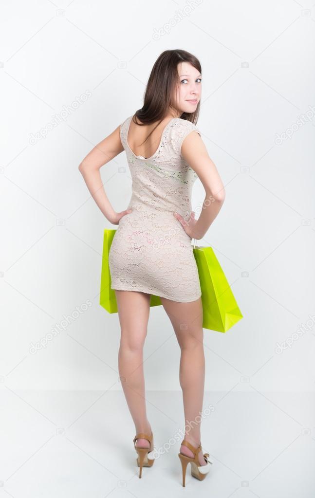 Cocktail Dress Brunette