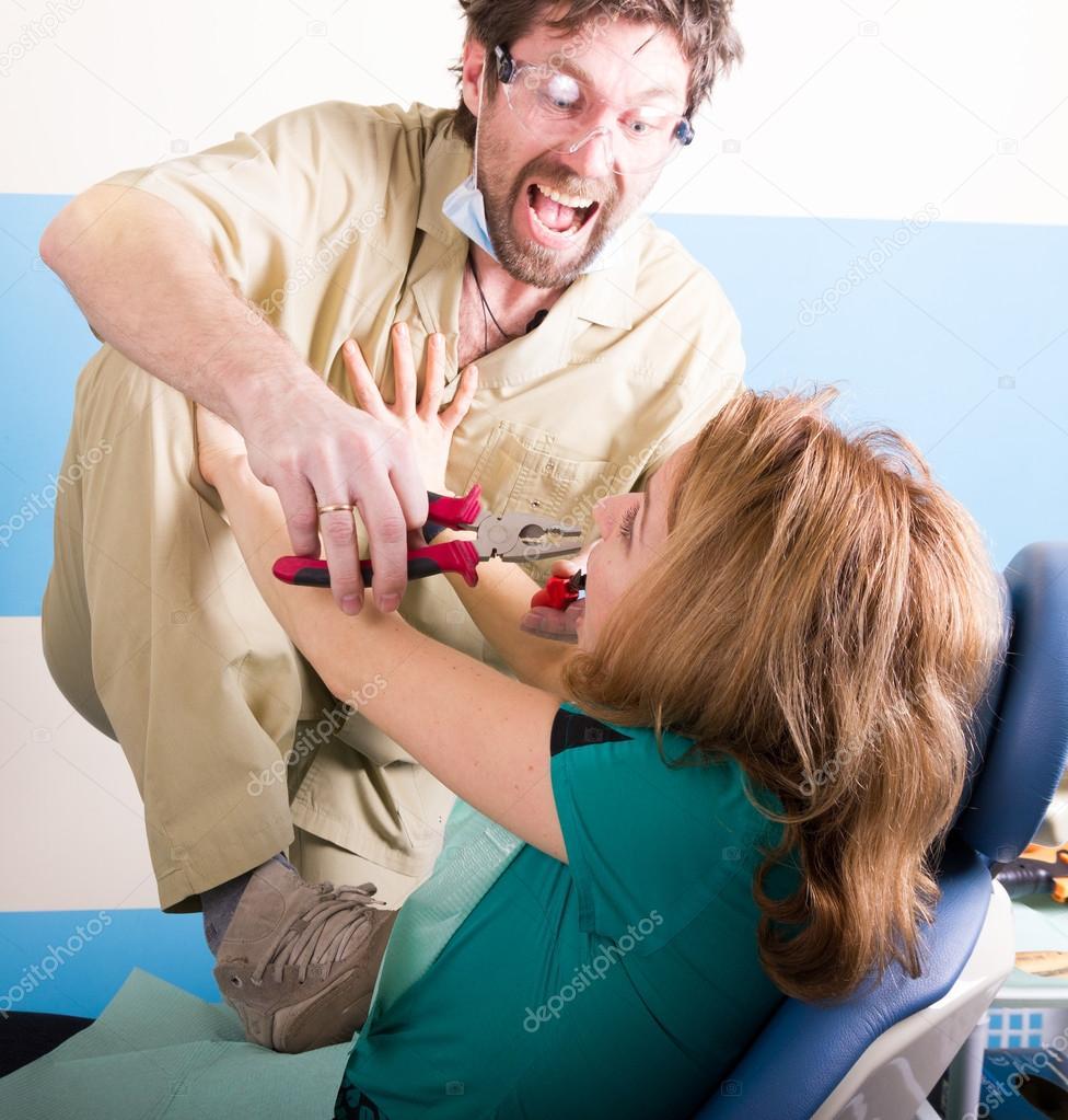 Сексуальное домогательство стоматолога