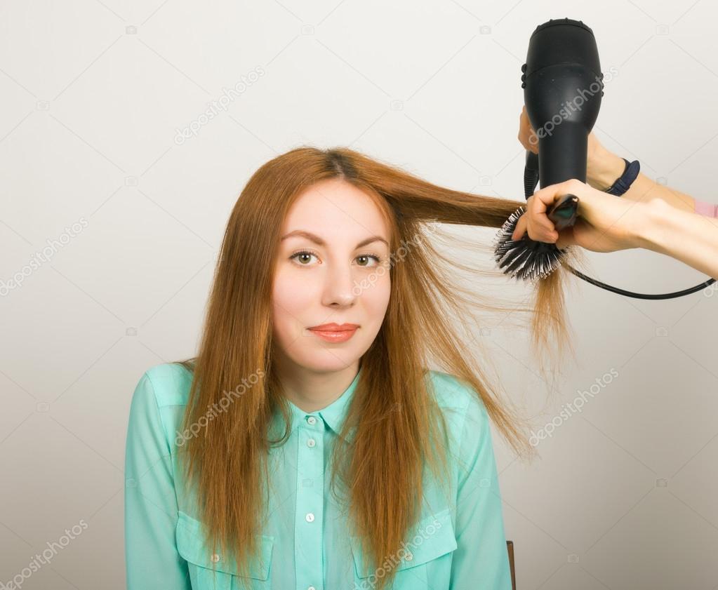 Politur lange Haare