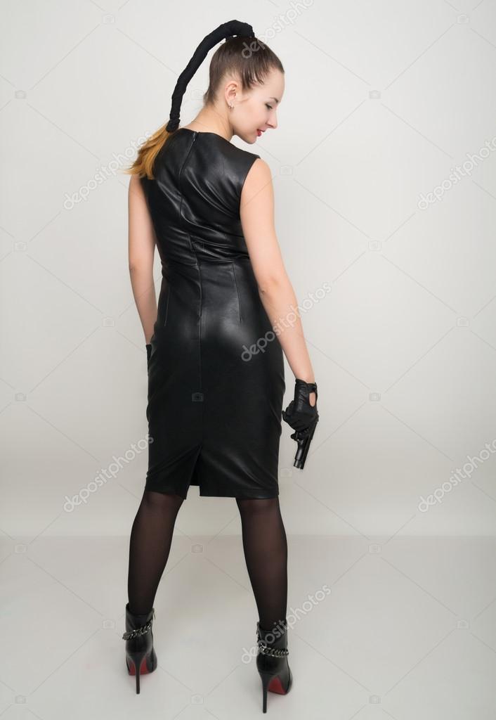 sexy langbeinige Frauen
