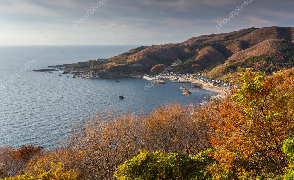 Northern coast of the Japan sea