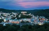 Panorama města Karlovy Vary