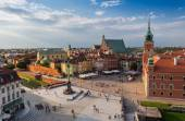 Fotografia Vecchia città di Varsavia in Polonia
