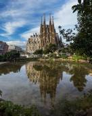 La katedrále sagrada familia v Barceloně