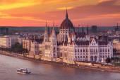 Panoráma a budapesti Parliamnet