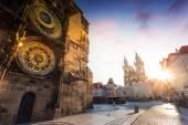 Photo Prague astronomical clock