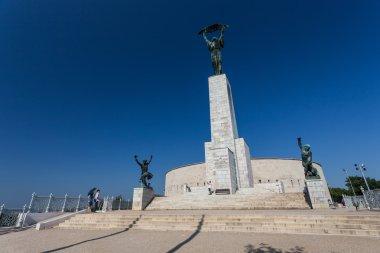 Gellrt Hill monument in Budapest