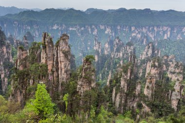 Avatar mountains of Zhangjiajie