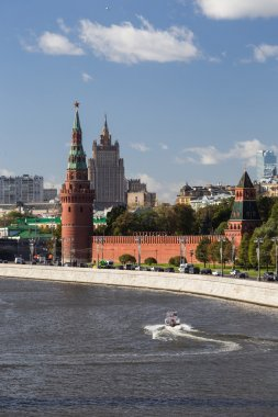 View of Neva river and Kremlin