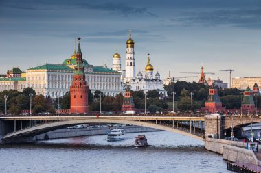 View of Neva river and Kremlin