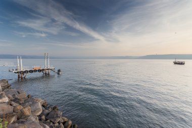 Galilee Sea, Kinneret, Israel.