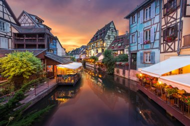 Colmar town in France