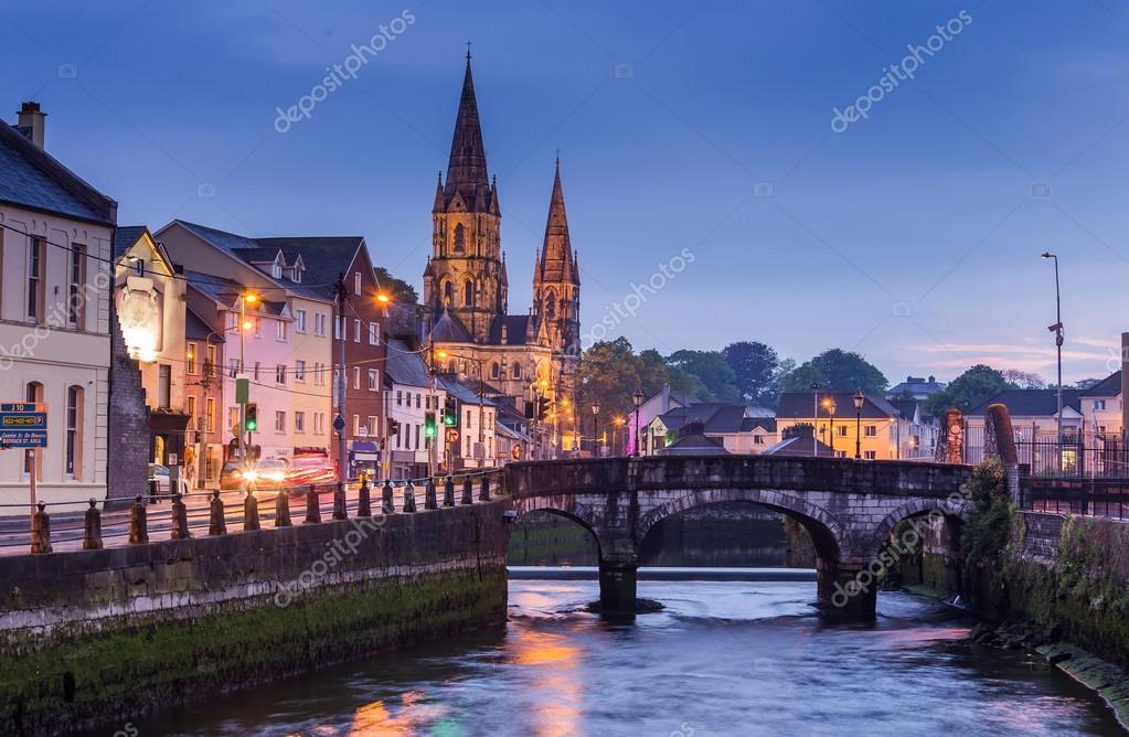 Cork City, Ireland — Stock Photo © kanuman #114473934 on county cork, blarney stone, county kerry, republic of ireland, blarney castle,