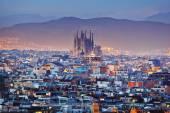 Město Barcelona ve Španělsku