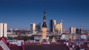 Old city in Tallinn