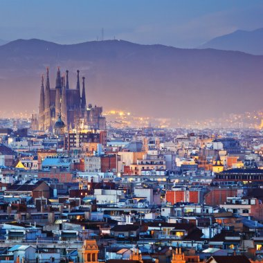 Barcelona city in Spain