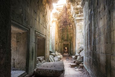 Picturesque ancient Ta Prohm temple