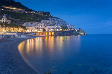 Picturesque cityscape of Amalfi