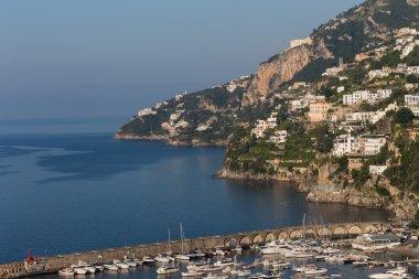 Picturesque cityscape of Amalfi