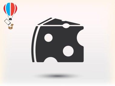 cheese icon  illustration