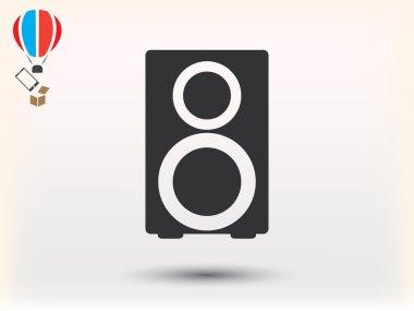 loudspeaker icon illustration