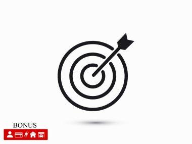 target icon illustration