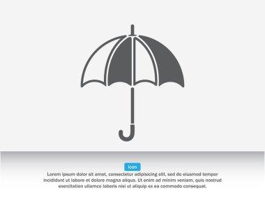 Umbrella, protection icon