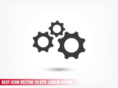 gears mechanism icon