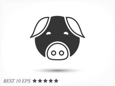 Pig muzzle icon