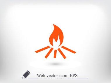 bonfire symbol icon