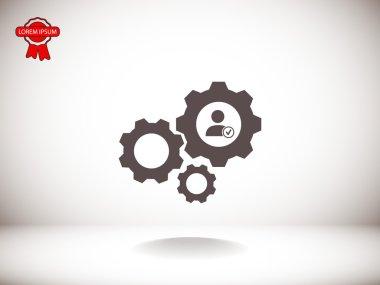 gears mechanism icon