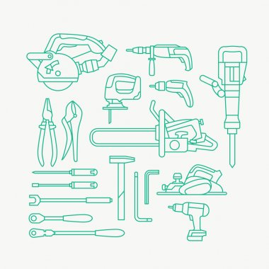 various construction tools