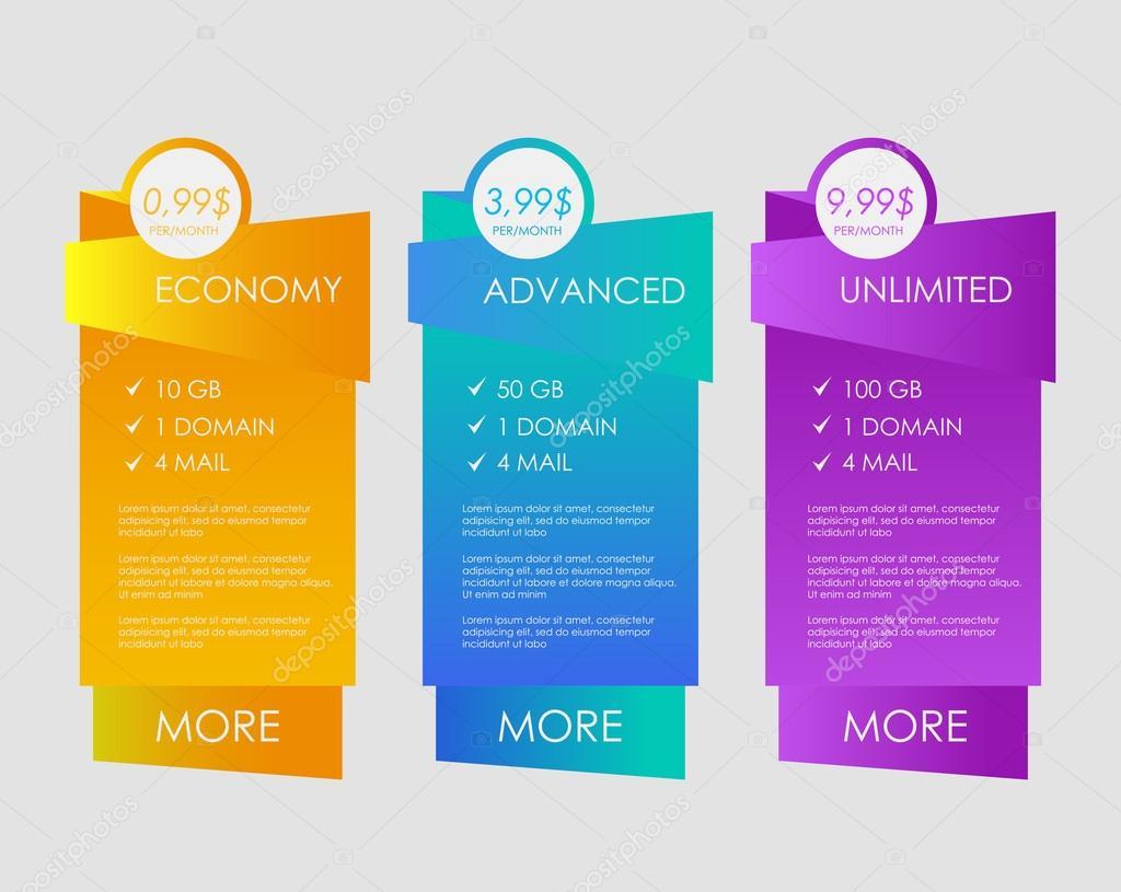 Web boxes banners design — Stock Vector © andrei dvaretski