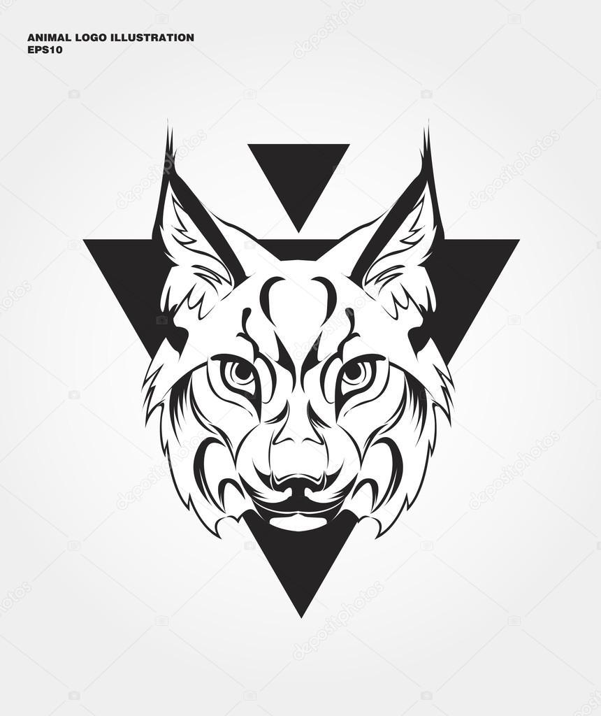 abstract lynx logo stock vector c andrei dvaretski yandex ru 106473016 https depositphotos com 106473016 stock illustration abstract lynx logo html