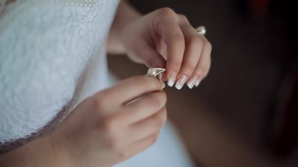 closeup of bride and groom exchanging wedding rings. couple in love. Sequence. ceremony of wedding. hands of man and woman. family and love concept.
