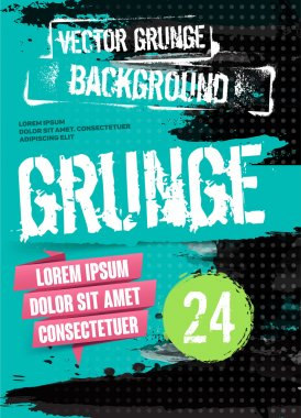 Abstract Modern Background. Grunge Texture. Scratch Texture. Dirty Texture. Wall Background. Vector Illustration. Flyer Templates.
