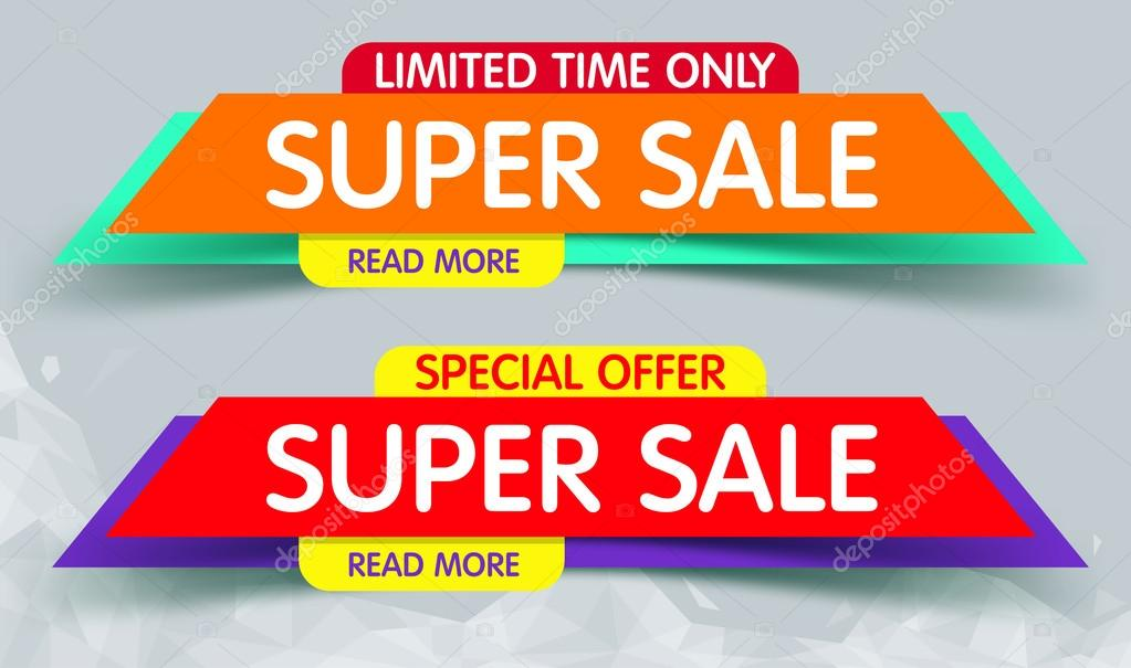 Sale Banner Banners Hand Banners