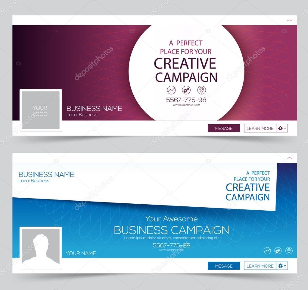 Web Banner, plantilla de diseño de encabezado. Tapa creativa. Banner ...