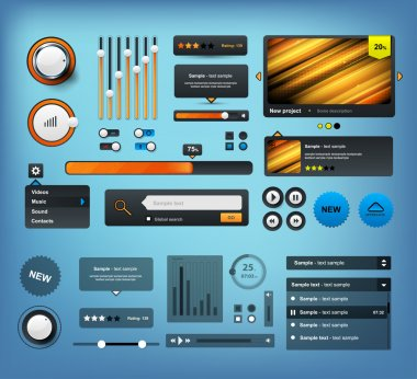 Web UI Elements. For Website design