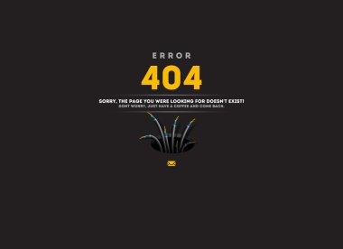 Page not found, 404 error Concept