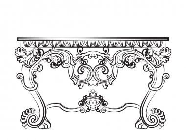 Baroque Imperial luxury style furniture