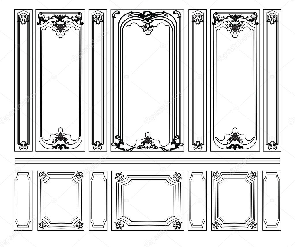Immagini decorative per pareti rullo decorativo per for Greche decorative per cucina