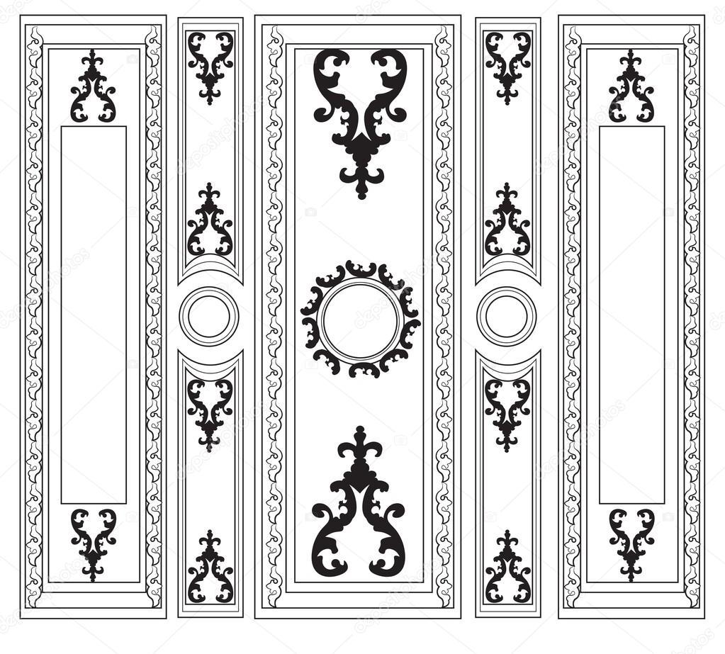 Immagini Decorative Per Pareti. Greca Adesiva Per Pareti Greche Decorative Da Stampare Con Le ...